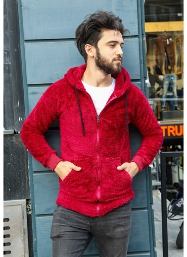 Madmext Sweatshirt Bordo